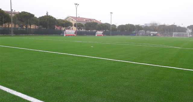 NEW FOOTBALL PITCH